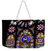 Stained Glass Beauty #46 Weekender Tote Bag