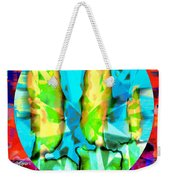 Stained Glass Candles Weekender Tote Bag