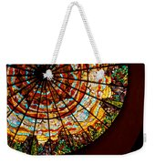 Stained Glass Ceiling Weekender Tote Bag