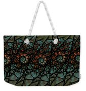 Stained Glass Floral I Weekender Tote Bag