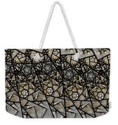 Stained Glass Floral IIi Weekender Tote Bag