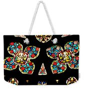 Stained Glass Glory Weekender Tote Bag