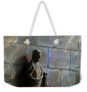 Stained Glass Illuminates Christ Weekender Tote Bag