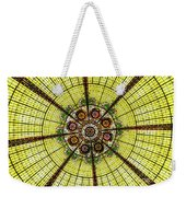 Stained Glass Kaleidoscope Weekender Tote Bag