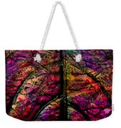 Stained Glass Not Weekender Tote Bag