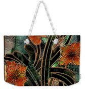 Stained Glass Parabolas Weekender Tote Bag
