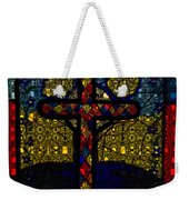 Stained Glass Reworked Weekender Tote Bag