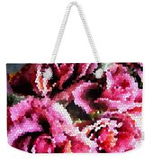 Stained Glass Roses 2 Weekender Tote Bag