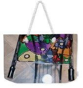 Stained Glass Sofa Table Weekender Tote Bag