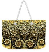 Stained Glass Summer Weekender Tote Bag