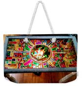 Stained Glass Table Weekender Tote Bag