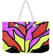 Tree - Stained Glass Watercolor Weekender Tote Bag