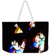 Stained Glass View Weekender Tote Bag
