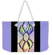 Stained Glass Watercolor Weekender Tote Bag