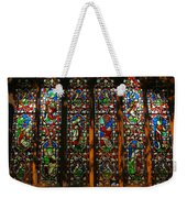 Stained Glass Window Christ Church Cathedral 2 Weekender Tote Bag