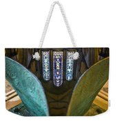 Stained Glass-window Reflection Weekender Tote Bag