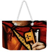 Stained Glass Window, St Peter Weekender Tote Bag