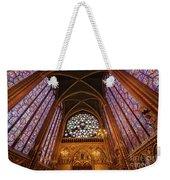 Windows Of Saint Chapelle Weekender Tote Bag