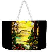 Stained Landscape Weekender Tote Bag