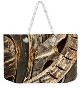 Stainless Abstract Weekender Tote Bag