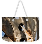 Stainless Abstract II Weekender Tote Bag