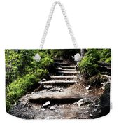 Stair Stone Walkway In The Forest Weekender Tote Bag