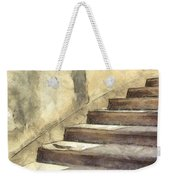 Staircase At Pitti Palace Florence Pencil Weekender Tote Bag