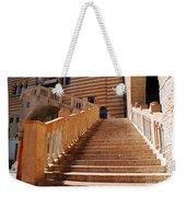 Staircase At Scala Della Ragione - Verona Italy Weekender Tote Bag