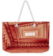 Staircase In Red Weekender Tote Bag