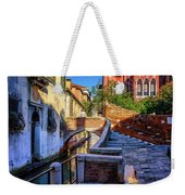 Staircase To Bridge In Venice_dsc1642_03012017 Weekender Tote Bag