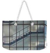 Stairs Behind Glass Weekender Tote Bag
