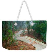 Stairs Down Mountain Weekender Tote Bag