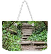 Stairs Going Up Hillside Weekender Tote Bag
