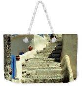 Stairway In Santorini Weekender Tote Bag