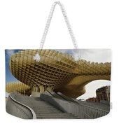 Stairway Leading Up To Metropol Parasol In The Plaza Of The Inca Weekender Tote Bag