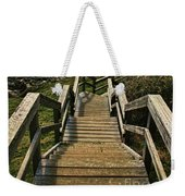 Stairway To Beach Weekender Tote Bag