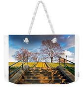 Stairway To Federal Hill Weekender Tote Bag