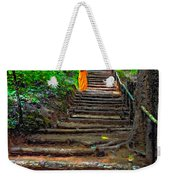 Stairway To Heaven Impasto Weekender Tote Bag