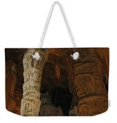 Stalacmites In Luray Caverns Va  Weekender Tote Bag