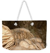 Stalactite Formation In Karst Cave Weekender Tote Bag