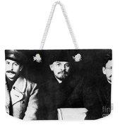 Stalin, Lenin & Trotsky Weekender Tote Bag