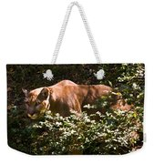 Stalking Big Cat Weekender Tote Bag