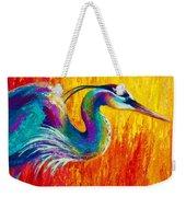 Stalking The Marsh - Great Blue Heron Weekender Tote Bag