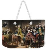 Stamp Act: Patrick Henry Weekender Tote Bag