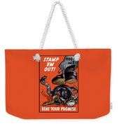 Stamp Em Out - Beat Your Promise Weekender Tote Bag