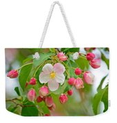 Stand Alone Japanese Cherry Blossom Weekender Tote Bag