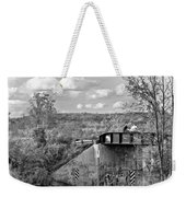 Stand By Me - Paint Bw Weekender Tote Bag