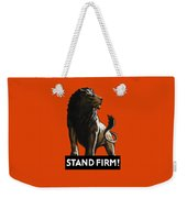 Stand Firm Lion - Ww2 Weekender Tote Bag