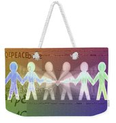 Stand Together In Peace Weekender Tote Bag
