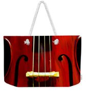 Stand Up Bass Weekender Tote Bag